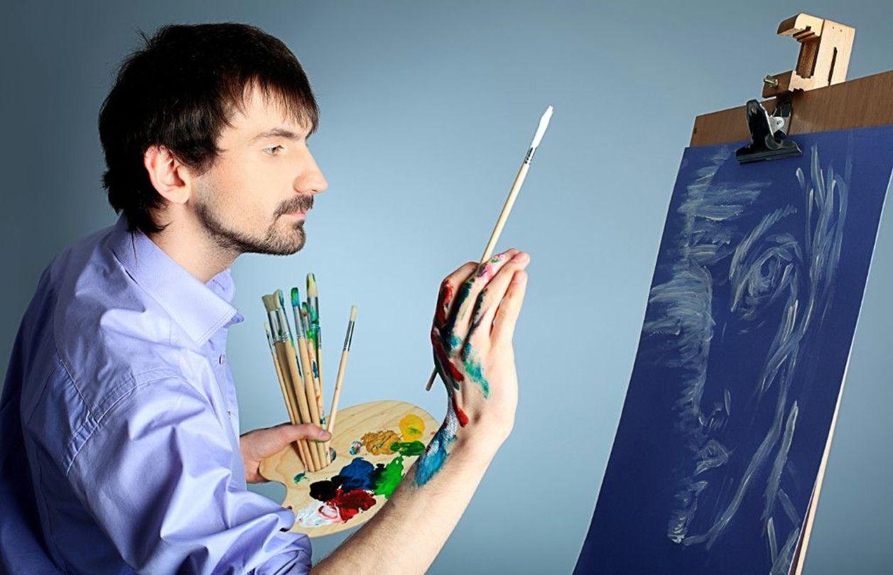 Простые модели Краски мастер класс художественные