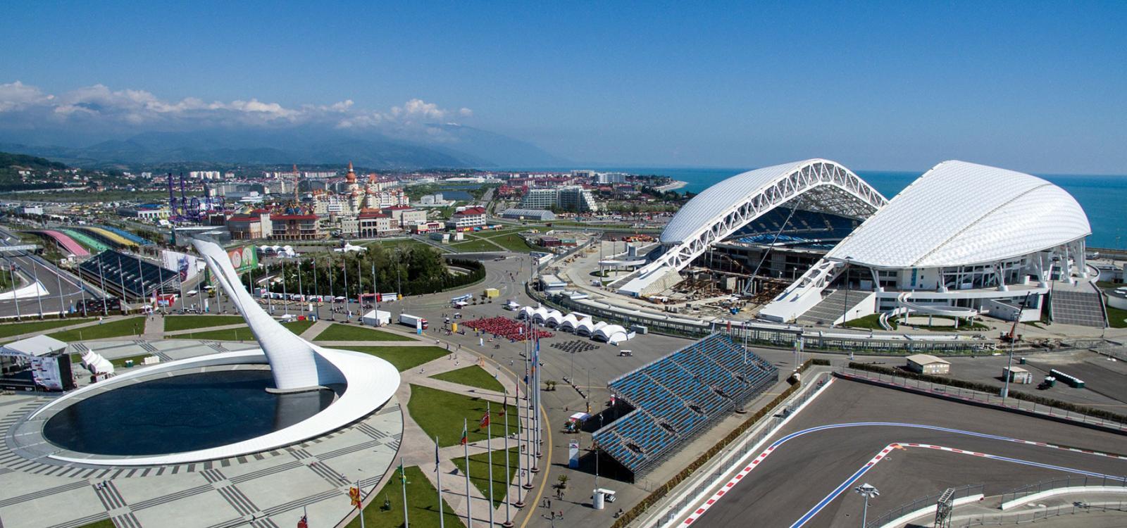 отдельных олимпиада в сочи стадионы фото это икона откуда